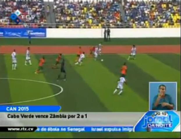 Resumo: Cape Verde Islands vs Zambia (10 Setembro 2014)