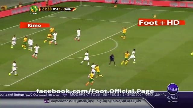 Resumo: South Africa 0-0 Nigeria (10 Setembro 2014)