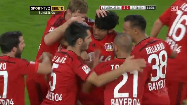 Bayer Leverkusen 3-3 Werder Bremen - Golo de H. Çalhanoğlu (63min)
