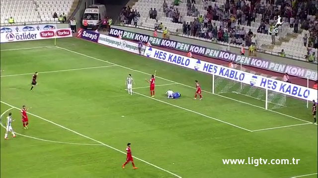 Resumo: Konyaspor 2-0 Balıkesirspor (13 Setembro 2014)