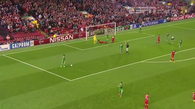 Liverpool Ludogorets Razgrad goals and highlights