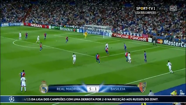 Real Madrid Basel goals and highlights