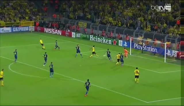 Borussia Dortmund Arsenal goals and highlights