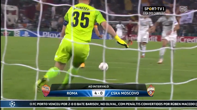 AS Roma CSKA Moscow goals and highlights