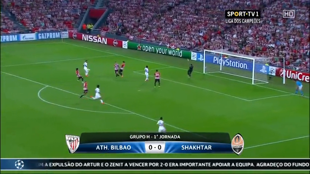 Ath. Bilbao Shakhtar Donetsk goals and highlights