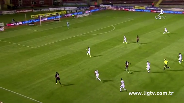 Resumo: Eskişehirspor 0-2 Gençlerbirliği (19 Setembro 2014)