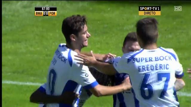 Resumo: Beira-Mar 0-2 Porto II (21 Setembro 2014)