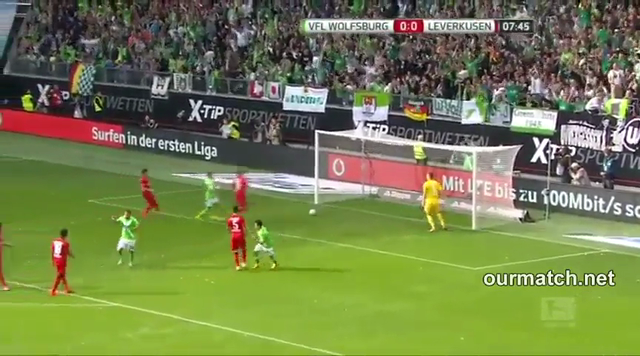 Resumo: Wolfsburg 4-1 Bayer Leverkusen (21 Setembro 2014)