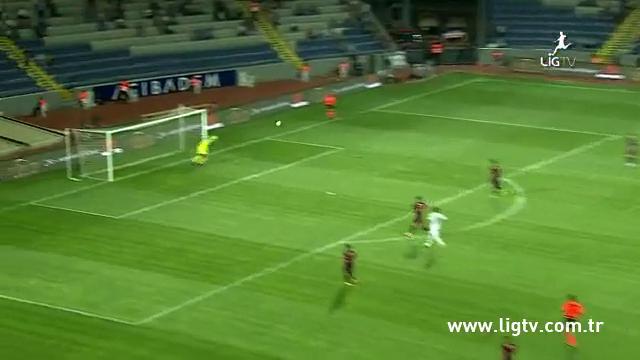Resumo: İstanbul Başakşehir 1-1 Trabzonspor (22 Setembro 2014)