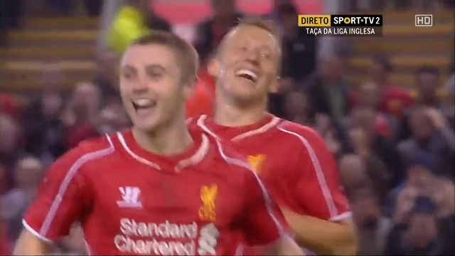 Liverpool 1-1 Middlesbrough (2-2 a.p.) (14-13 pen.) - Golo de J. Rossiter (10min)
