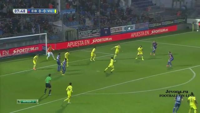 Resumo: Eibar 1-1 Villarreal (24 September 2014)