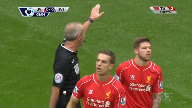 Resumo: Liverpool 1-1 Everton (27 September 2014)
