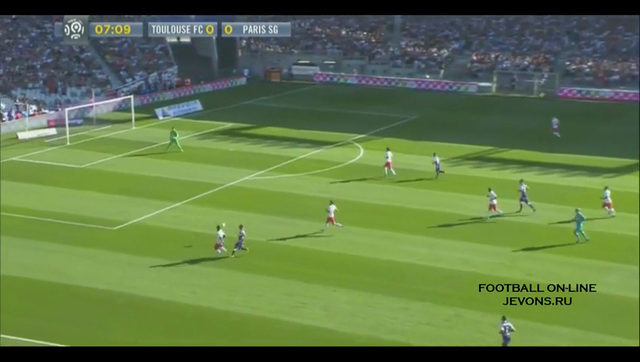 Summary: Toulouse 1-1 PSG (27 September 2014)
