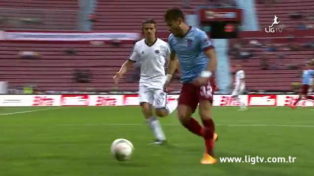 Resumo: Trabzonspor 1-1 Kasımpaşa (27 Setembro 2014)