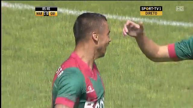 Marítimo 4-0 Guimarães - Gól de Edgar Costa (6min)