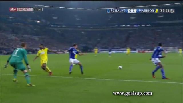 Schalke Maribor goals and highlights