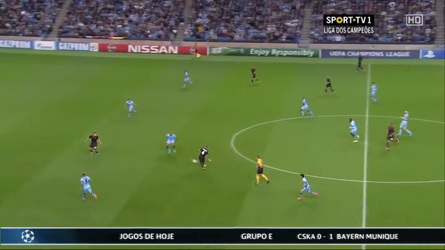 Manchester City AS Roma goals and highlights