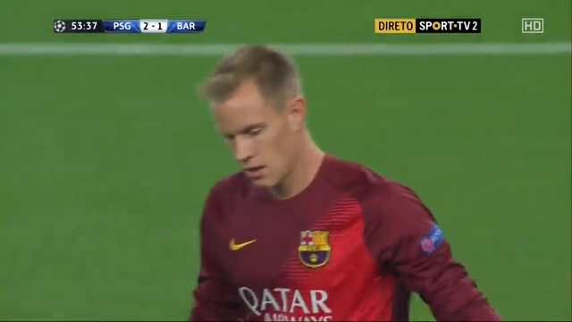 PSG 3-2 Barcelona - Golo de B. Matuidi (54min)
