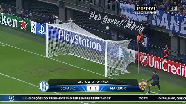 Resumo: Schalke 04 1-1 Maribor (30 Setembro 2014)