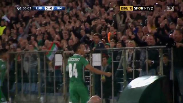 Ludogorets Razgrad Real Madrid goals and highlights