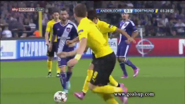 Anderlecht Borussia Dortmund goals and highlights