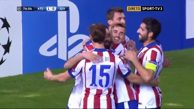 Atletico Madrid Juventus goals and highlights