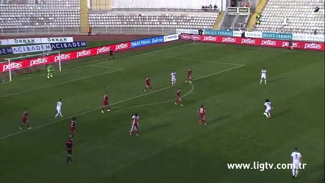 Resumo: Sivasspor 1-0 Gençlerbirliği (4 Outubro 2014)