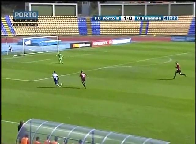 Resumo: Porto II 7-0 Olhanense (5 Outubro 2014)
