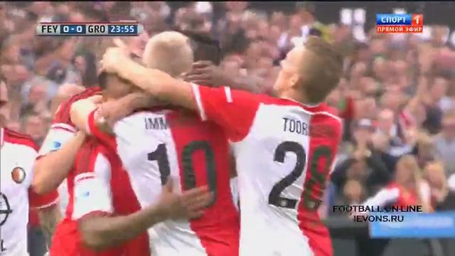 Resumo: Feyenoord 4-0 Groningen (5 Outubro 2014)