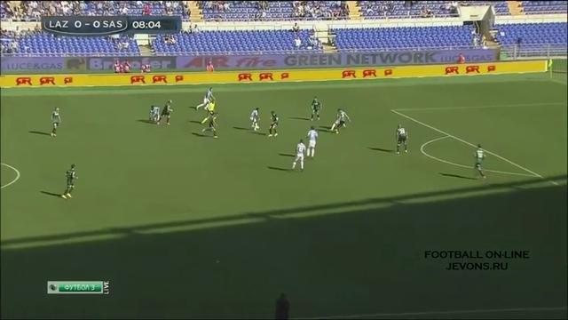 Resumo: Lazio 3-2 Sassuolo (5 Outubro 2014)