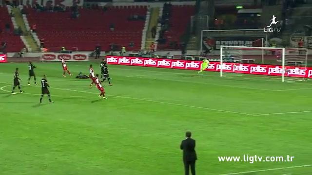 Resumo: Balıkesirspor 0-1 Beşiktaş (5 Outubro 2014)