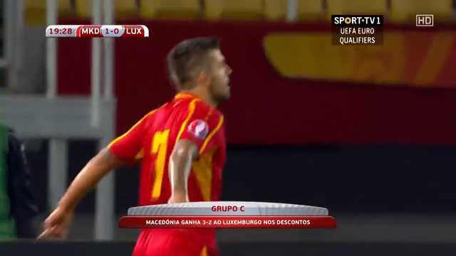 Resumo: FYR Macedonia 3-2 Luxembourg (9 Outubro 2014)
