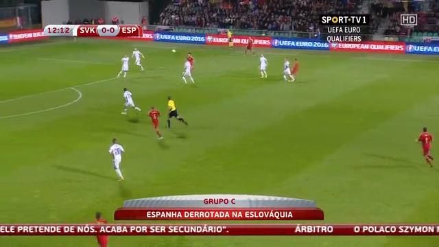 Slovakia Spain goals and highlights