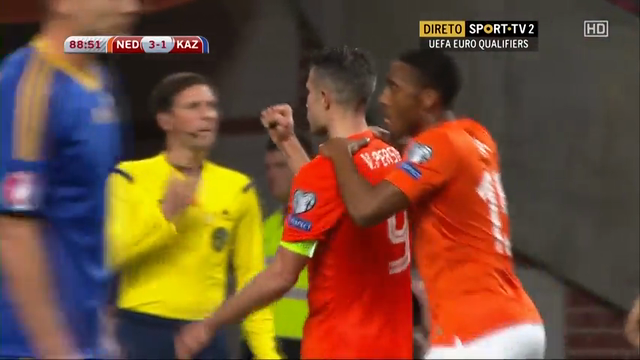 Netherlands 3-1 Kazakhstan - Golo de R. van Persie (89min)