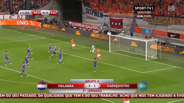Netherlands Kazakhstan goals and highlights