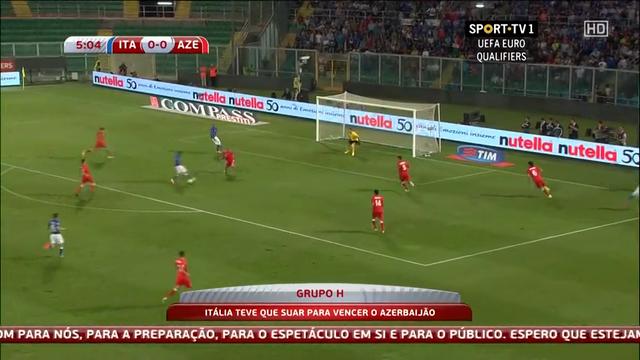 Italy Azerbaijan goals and highlights