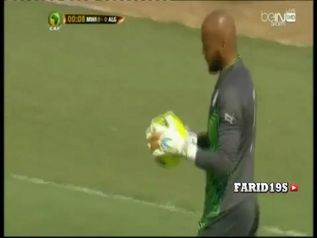Resumo: Malawi 0-2 Algeria (11 Outubro 2014)