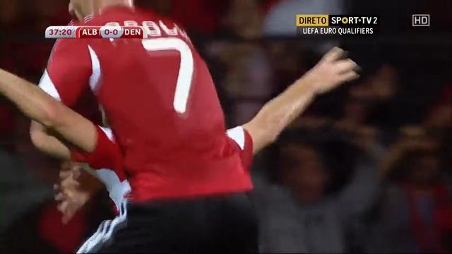 Albania Denmark goals and highlights