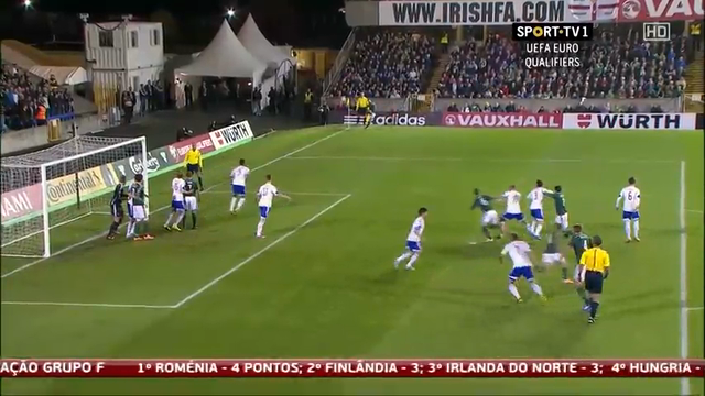 Resumo: Northern Ireland 2-0 Faroe Islands (11 October 2014)