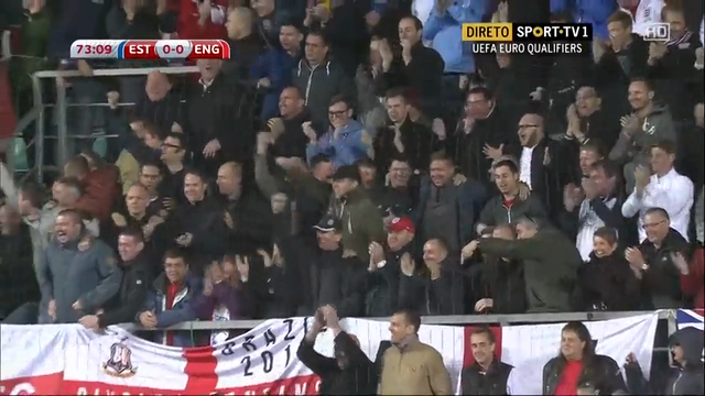 Estonia 0-1 England - Golo de W. Rooney (73min)