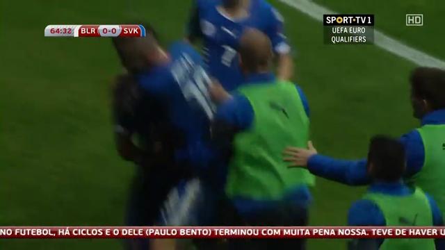 Resumo: Belarus 1-3 Slovakia (12 Outubro 2014)