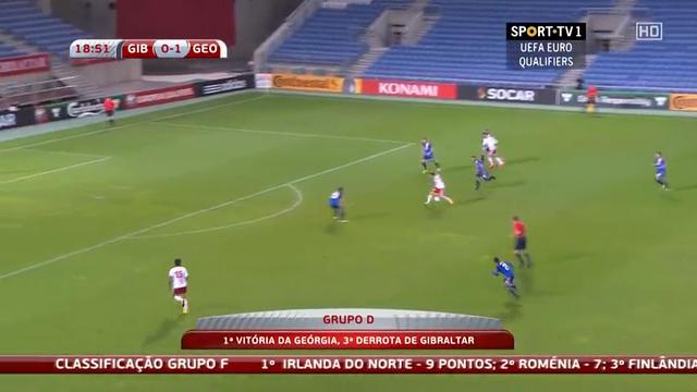 Gibraltar Georgia goals and highlights