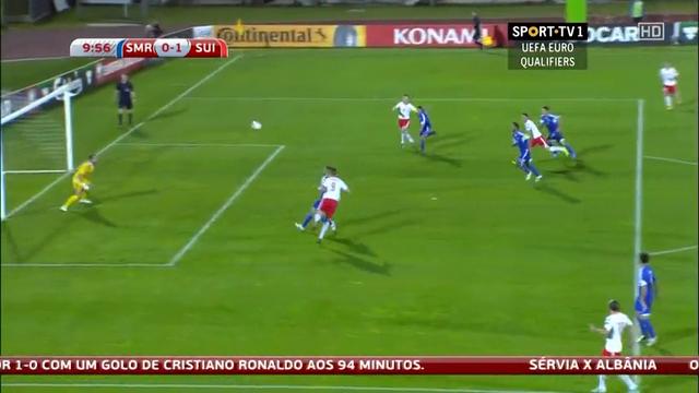 Resumo: San Marino 0-4 Switzerland (14 Outubro 2014)