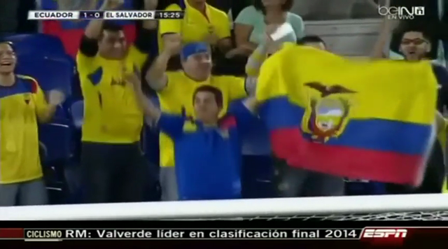 Resumo: El Salvador 1-5 Ecuador (15 Outubro 2014)