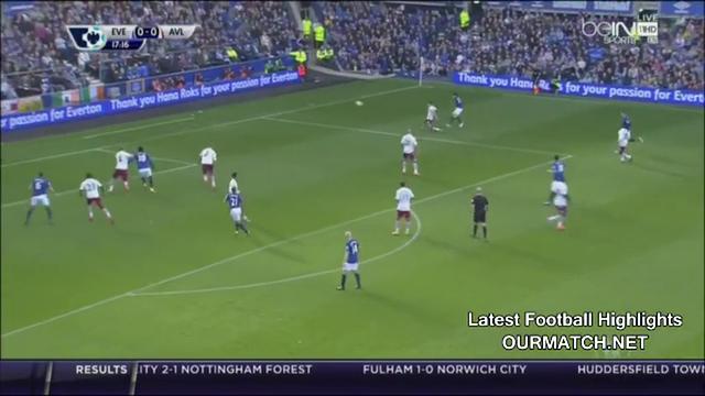 Resumo: Everton 3-0 Aston Villa (18 October 2014)
