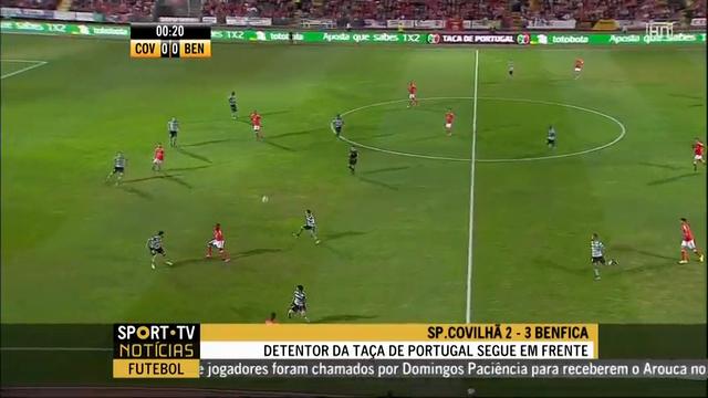 Resumo: Sporting Covilhã vs Benfica (18 Outubro 2014)