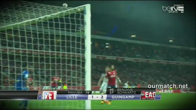 Resumo: Lille 1-2 Guingamp (18 Outubro 2014)