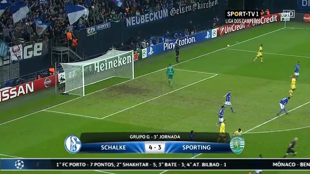 Summary: Schalke 04 4-3 Sporting CP (21 October 2014)