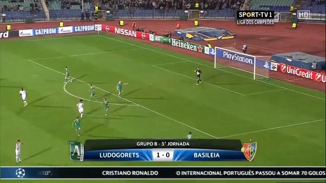 Ludogorets Razgrad Basel goals and highlights