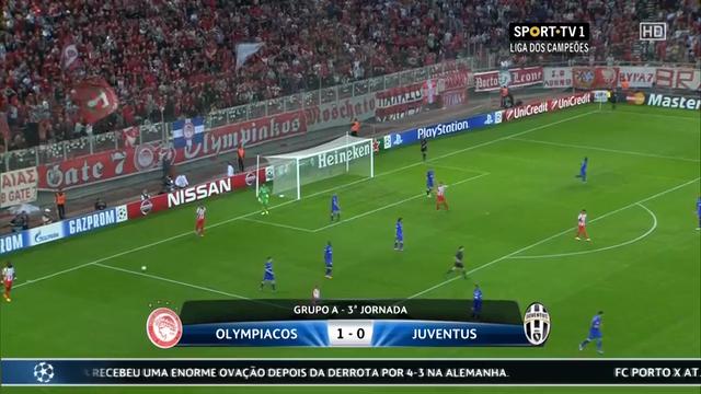 Olympiakos Juventus goals and highlights